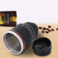 17oz Camera Lens Coffee Mug Cup Tea Travel Photo Dslr Stainless Steel Thermos Us