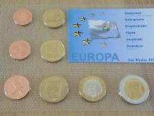 San marino euro muestras kms 2011 specimen pattern en tachas lámina (kms-a1)