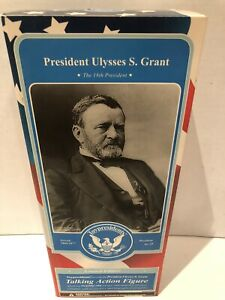 Toy Presidents NIB Rare Ulysses S Grant Talking Action Figure