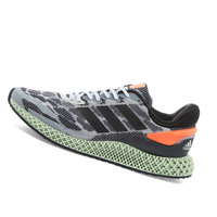 ADIDAS MENS Shoes 4D 1.0 - White, Black & Coral - FW1233