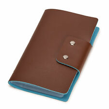 Leatherette Business Card / Credit Card Organizer Book - 96/188 Cards (96 Cell)