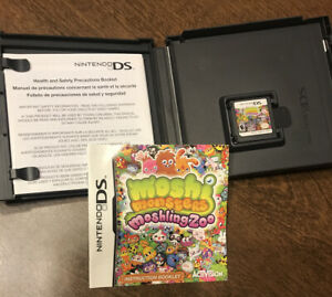 Moshi Monsters: Moshling Zoo (Nintendo DS, 2011) Complete