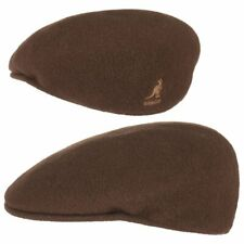 Kangol 504 Wool Tabacco 100 wolle braun Flatcap Cap Classic M