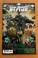 "Dark Knights Rising # 1 2018 Foil Stamped ""Metal Tie-In"" 1st Print DC Comics NM+"