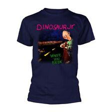 Dinosaur Jr 'Where You Been' Blue T shirt - NEW