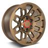 "17"" Matte Bronze Wheels Fits Toyota Tacoma 4Runner FJ Cruiser"