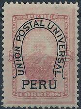 [37527] Peru 1882 Good stamp Very Fine Mint no gum signed