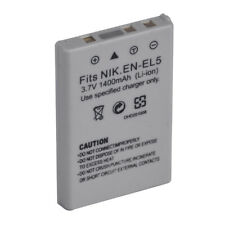 New EN-EL5 Replacement Battery for Nikon CoolPix P500 P510 P520 P530 P6000 P3 P4