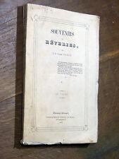 J.-B.-Claude Pourrat SOUVENIRS ET RÊVERIES Clermont-Ferrand 1855