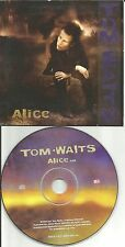 TOM WAITS Alice CARDED SLEEVE Europe Made PROMO CD single USA Seller 2002