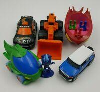 Toy Lot Collectible Figures PJ Masks Hot Wheels Dump Truck FJ Cruiser