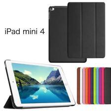 iProtect Slim Kunstleder Smart Case Apple iPad Mini 4 Cover Hülle in Schwarz