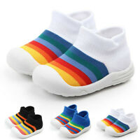 Toddler Shoes Infant Baby Girl&Boys Colorful Mesh Sole Sport Shoes Sneakers