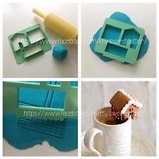 Biscotti Tazza Tea Cup Cookie Christmas Natale Formine Casetta 3D Casa Biscotto