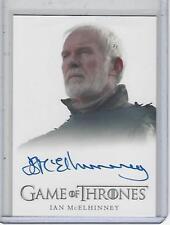 Game of Thrones Season 7 Ian MCElhinney (FB) autograph