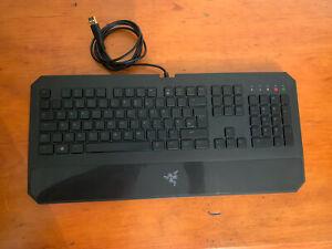 Razer Deathstalker Backlit USB Gaming Keyboard with Programmable Keys / Macros