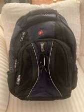 Swiss Gear Blue and Black  Scansmart Airflow Backpack Laptop Travel Computer