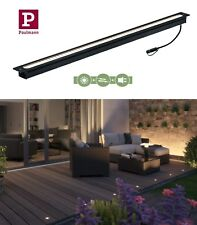 Paulmann Plug&Shine LED Lichtleiste Einbau IP67 8W 24V Anthrazit Dimmbar