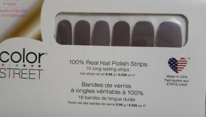 Color Street BERLIN IT TO WIN IT 100% Nail Polish Strips