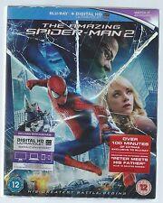 The Amazing Spider-Man 2 Andrew Garfield Emma Stone Blu-ray Brand New/Sealed