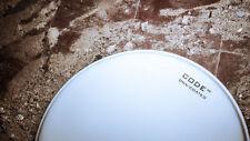"CODE 14 "" Inch DNA Coated Tom Head Drum Skin single ply white"
