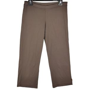 prAna USA Womens Yoga Pants Sz Small Brown - S
