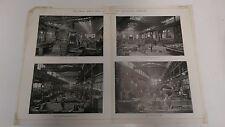 The Krupp Steel Works Of Westphalia, Germany: 1912 Engineering Magazine Print