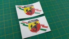 Fiat 500 / 595 / 695  Abarth panel Decals / Stickers 100mm wide bubble free viny