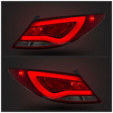 LED Red | Clear Tail Lights For Hyundai Accent 2012-2017 Rear Lamps Assembly