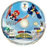 Mario & Sonic at the Olympic Winter Games - Nintendo Wii Video Game - Disc Only