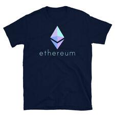Ethereum T-Shirt, Ethereum Crypto Logo Emblem Shirt, Unisex Tee