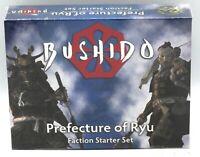 Bushido BPR001/19 Prefecture of Ryu (Faction Starter Set) Risen Sun Takashi Clan