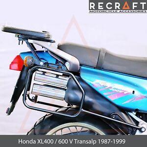 Honda XL600V Transalp 1987-1999 Side Carrier Luggage Mount ver.1