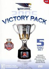 West Coast Eagles 2006 - Official AFL 5 Disc Victory Pack - Free Postage