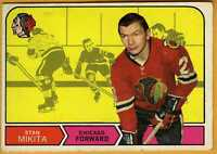 1968-69 Topps 155 Stan Mikita Chicago Blackhawks VGEX