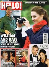 HELLO! Magazine 3/12/2012 WILLIAM & KATE Tess Daly VICTORIA & DAVID BECKHAM @New
