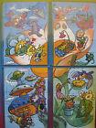 PUZZLE K01 -109-110-111-112 FIGURATIVO COMPLETO + CARTINE