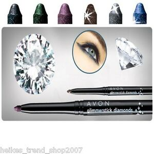 Avon peppiger Augenkonturenstift Diamonds Glimmerstick Farbwahl NEU