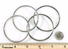 """Steel 0-Rings Rings Nickel Plate 2"""" Id 50 pcs"""