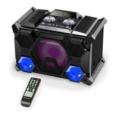 IBIZA SPLBOX400-PORT Sound Box System Lautsprecher Bluetooth USB Fernbedienung