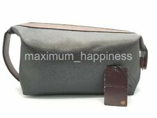 CLEARANCE - MULBERRY SCOTCH GRAIN LARGE WASH BAG / TOILETRIES POUCH - AUTHENTIC