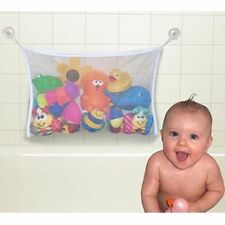 AU Clippasafe Baby Child Kid Bath Toy Bag Net Storage Bathroom Suction Organizer