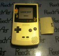 Gameboy Color Pokemon Pikachu Edition Nintendo System Gold / Silver Game Boy GBC