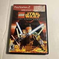 Lego Star Wars PlayStation 2 PS2 Complete Game Free Shipping Good Condition