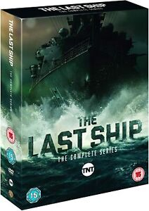 The LAST SHIP COMPLETE SERIES 1 2 3 4 5 DVD BOXSET 15 Disc Region 4 New & Sealed