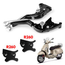 Motorcycle Adjustable Clutch Brake Lever For VESPA GTS 300 Super Silver