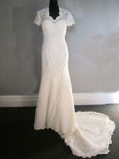 Crystal/Diamante Polyester Plus Size Wedding Dresses