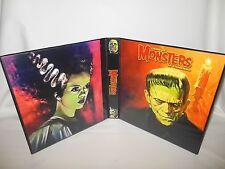 Custom Made Famous Monsters Of Filmland Frankenstein Collectors Album Binder