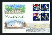 1988 Australian Settlement - Stuart Fdc - Exeter Fdi