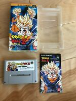 DRAGONBALL Z HYPER DIMENSION SFC Super Famicom SNES NTSC-J JAPAN Import CIB F/S